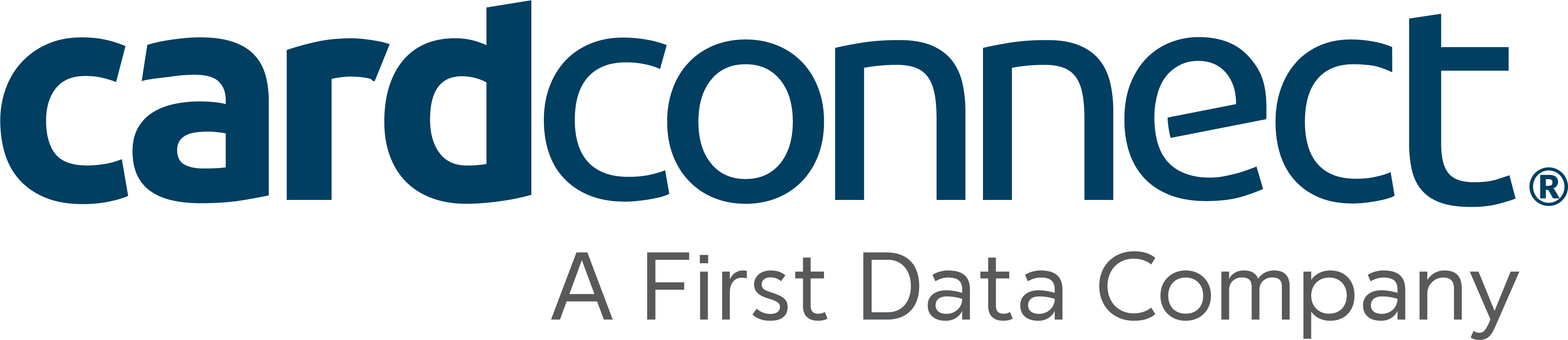 CardConnect A First Data Company Logo